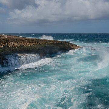 At Boka Tabla National Park, Curacao by gerdagrice