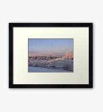 The Morning Frost III Framed Print