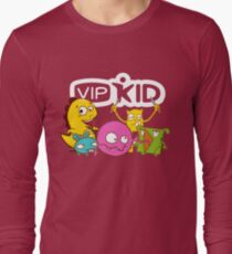 dbd869f4 VIPKID Teacher Shirt with Dino and Monster Mascots Long Sleeve T-Shirt