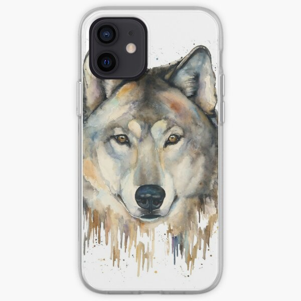 Wolf Stare iPhone Soft Case