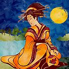 New Moon Geisha  by PETAbstractA