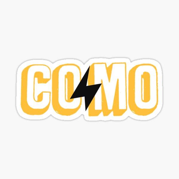 COMO Lightning - Gold Sticker