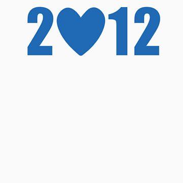 2012 Heart - Blue Bold by opoeian
