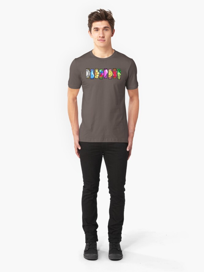 Alternate view of On My Way To Victory Road  Slim Fit T-Shirt