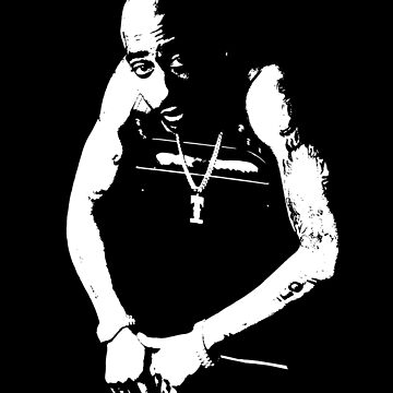 Classic Hip Hop Icons - Deaht Row - Rap music, Black and White by queendeebs