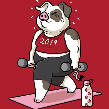 Year of the Pig 2019 by Jennifer-Smith