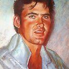Portrait of James by Lynda Robinson