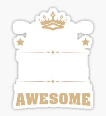 April 1978 41 Years Of Being Awesome Sticker