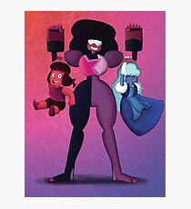 Garnet and the crystal moms Photographic Print