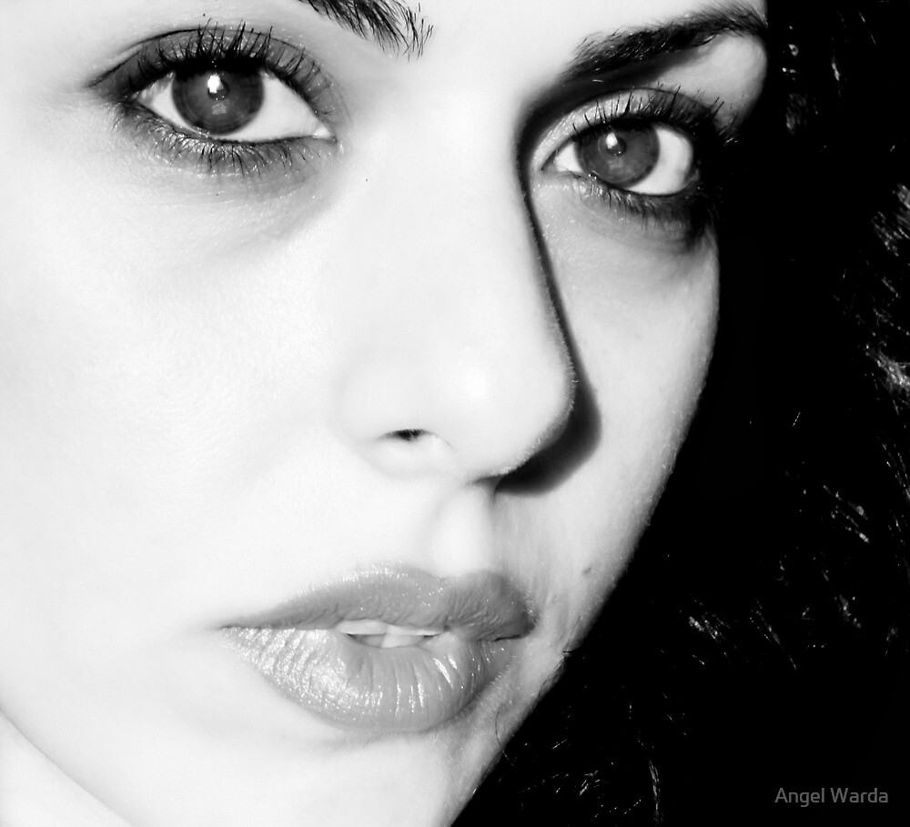 something about her eyes by Angel Warda