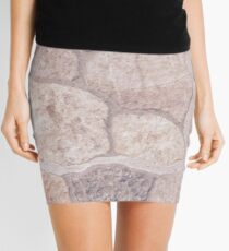 stone tiling Mini Skirt
