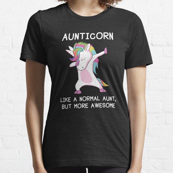 Aunticorn Unicorn Aunt Essential T-Shirt