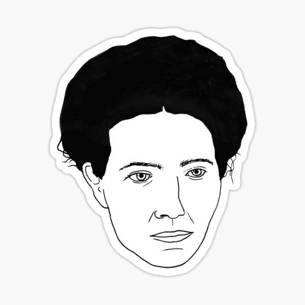 Simone de Beauvoir Sticker