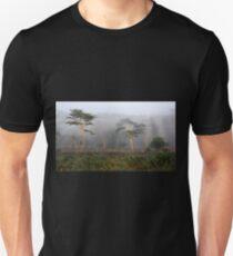 Foggy Morning, Lake Nakuru, Kenya Unisex T-Shirt