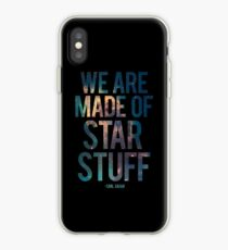 We Are Made of Star Stuff - Carl Sagan Quote iPhone-Hülle & Cover