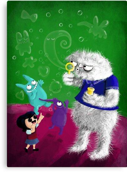 Yeti's Bubbles by colonelle