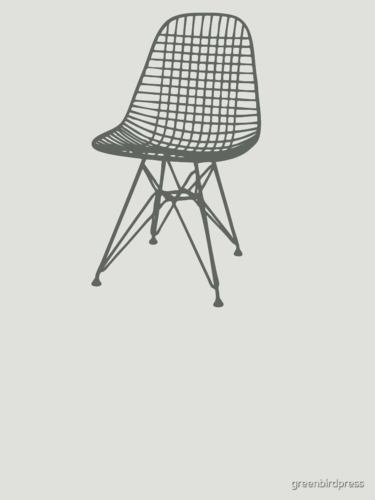 Eames Wire Chair By Greenbirdpress