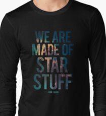 Camiseta de manga larga Estamos hechos de Star Stuff - Carl Sagan Quote