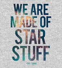 We Are Made of Star Stuff - Carl Sagan Quote Kids Pullover Hoodie