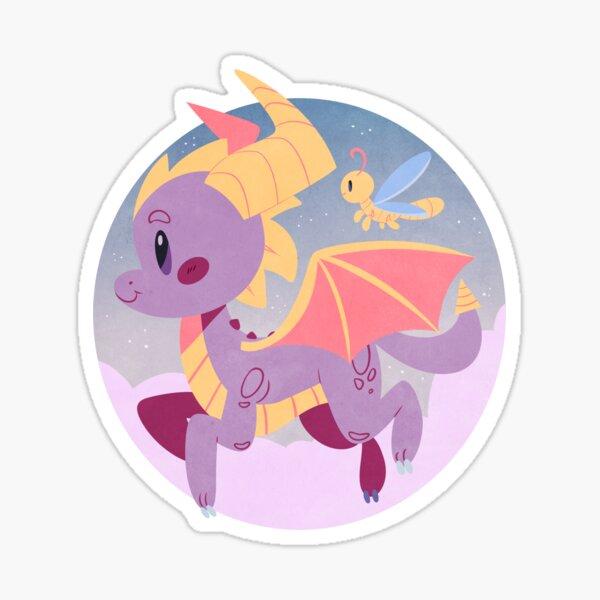 Spyro the Dragon Sticker