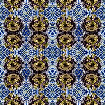 Passion Flower from Front Seamless Pattern by shane22