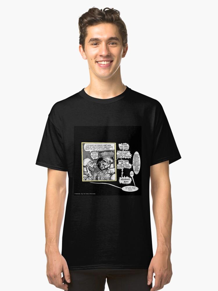 Alternate view of Tex Watt's Epic Bible Project Movie Storyboard #11 Classic T-Shirt