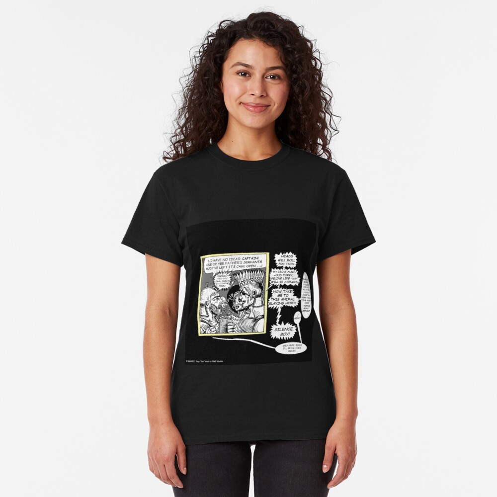 Tex Watt's Epic Bible Project Movie Storyboard #11 Classic T-Shirt