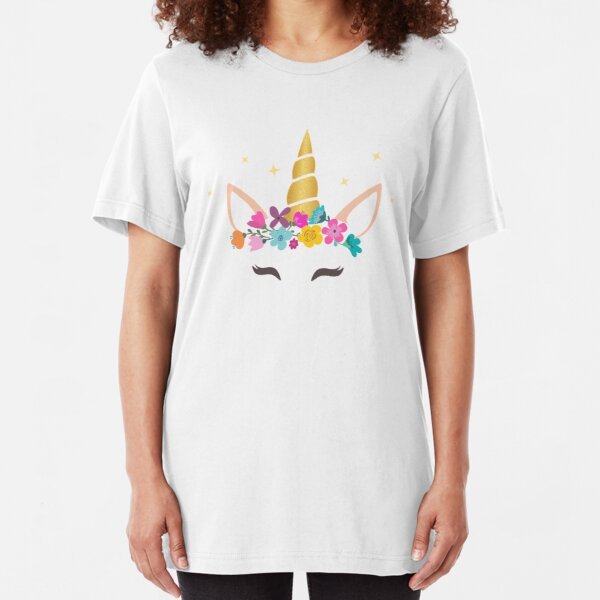 Unicorn clothes - T-shirt unicorn Slim Fit T-Shirt