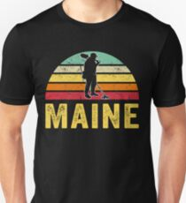 Maine Treasure Finding Apparel Metal Detecting Gift Unisex T-Shirt