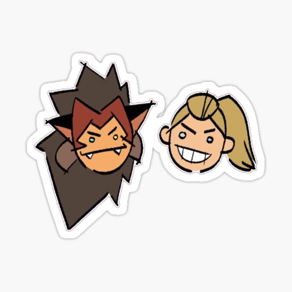 Catra and Adora  Sticker