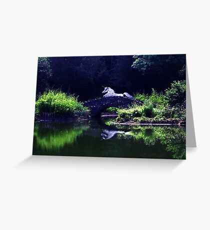 Moonlight Dreams Greeting Card