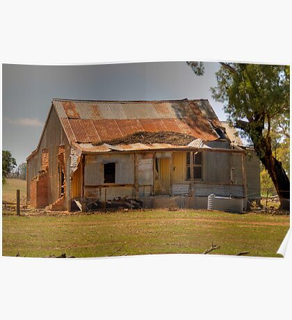 Pioneer Homestead, near Young, NSW, Australia Poster