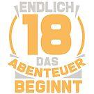 18th birthday by 0815-Shirts