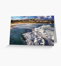 Bronte Ocean Baths Greeting Card