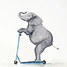 Elephant on a Scooter by Gillian Cross