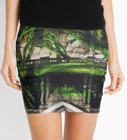 Vines in the Clocktower Mini Skirt