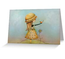 summer days are golden Greeting Card
