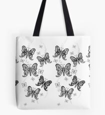 Just Add Colour -Butterfly Sparkle Tote Bag