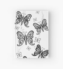 Just Add Colour -Butterfly Sparkle Hardcover Journal