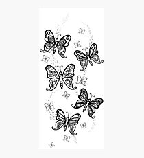 Just Add Colour -Butterfly Sparkle Photographic Print