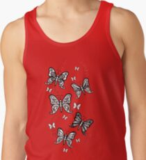 Just Add Colour -Butterfly Sparkle Tank Top