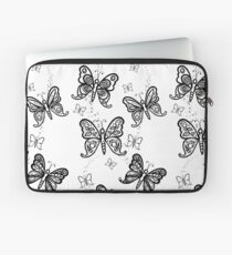 Just Add Colour -Butterfly Sparkle Laptop Sleeve