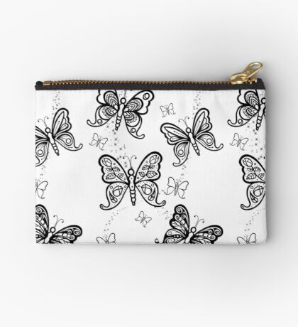 Just Add Colour -Butterfly Sparkle Studio Pouch