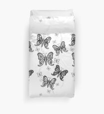 Just Add Colour -Butterfly Sparkle Duvet Cover