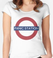 Panic Station Women's Fitted Scoop T-Shirt