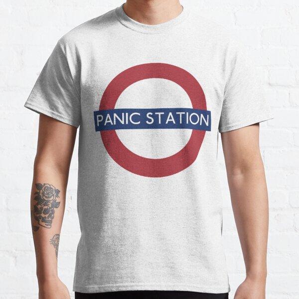 Estacion de PANICO Camiseta clásica