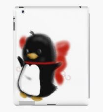Bowed up Penguin party iPad Case/Skin