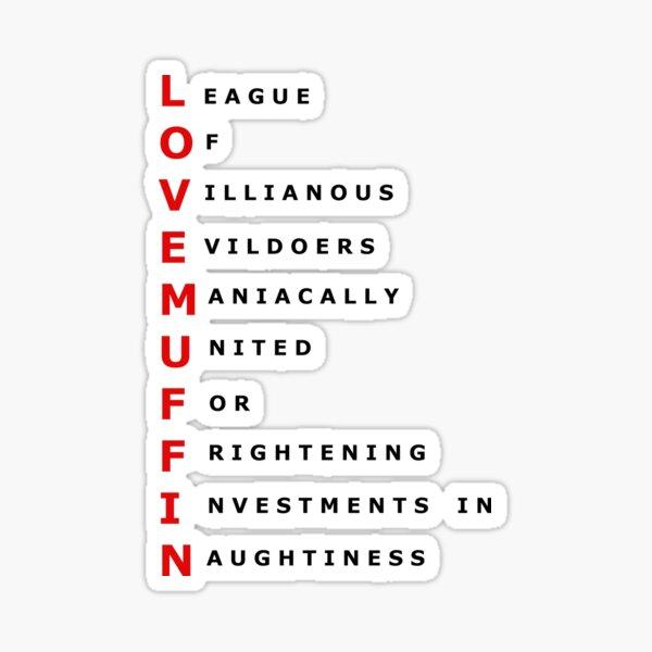 Lovemuffin  Sticker