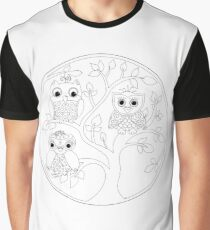 Just Add Colour - Tree of Knowledge  Graphic T-Shirt