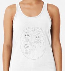 Just Add Colour - Tree of Knowledge  Women's Tank Top